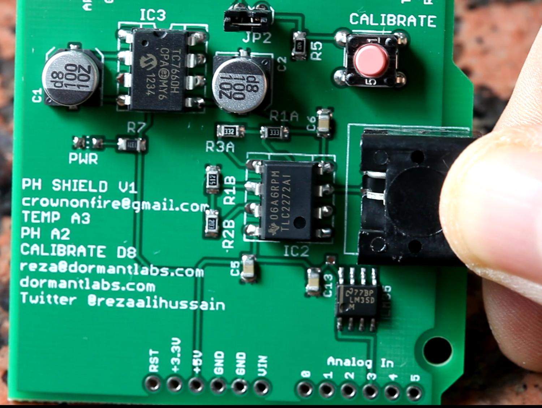 Arduino PH Shield de Dormant Labs
