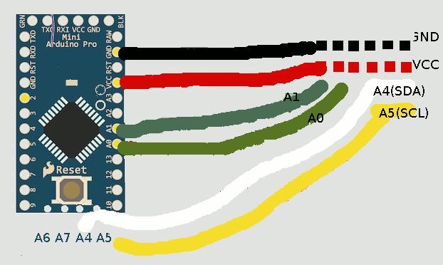 Medidor de ph con arduino pro mini y sensor dormant